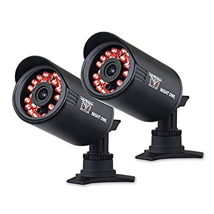 Night Owl Security CAM-2PK-650 Indoor/Outdoor 650 TVL Security Bullet Camera