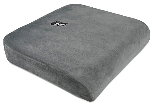 Grade Bonsai - Bonsai Wellness XL Therapeutic Grade Bariatric Seat Cushion Great for users up to 500 Pounds Dense Firm Back Tailbone Support
