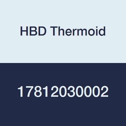 HBD Thermoid Type 924 Petroleum Transfer Petrolium//LPG Petrolium NBR Hose 100 Length 150 psi Max Pressure 3 Hose ID Black