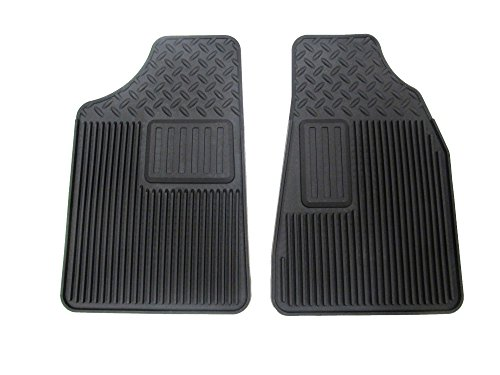 OEM NEW Front All Weather Rubber Floor Mats Black 07-12 Canyon Colorado 20830404