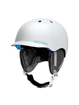 Pro-tec Scandal BOA Snow Helmet, Pearl White, Large