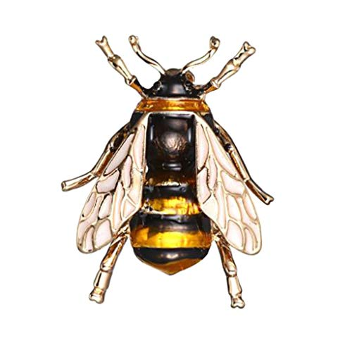 (Clearance Sale!DEESEE(TM)Bee Insect Brooch Accessories of Clothing Brooches Gifts of Birthday Jewelry)