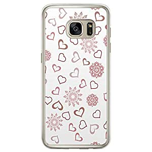 Loud Universe Samsung Galaxy S7 Edge Love Valentine Files Valentine 132 Printed Transparent Edge Case - Multi Color