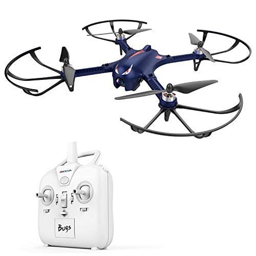 DROCON Bugs 3 Powerful Brushless Motor Quadcopter High Speed Flying Gopro Drone for Adults and Hobbyists, Blue