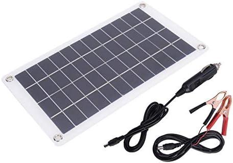 VGEBY Solarpanel, 7,5 W 12V tragbares stabiles monokristallines Silizium-Solarzellenpanel Effizientes Solar-Telefonladegerät für den Außenbereich für DIY-Ladegeräte
