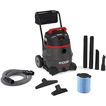 Ridgid 50348 1400RV Wet/Dry Vacuum with Cart, 14 gal, Red