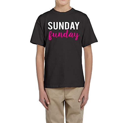 LingBer Youth Sunday Funday Kids Girls Boys T-Shirt