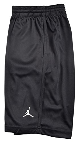 Jordan Boys' (8-20) Nike Air Jumpman Basketball Shorts-Black-Large