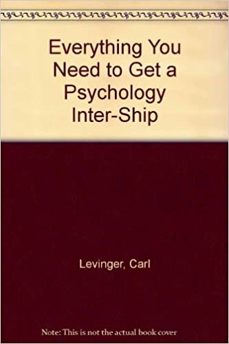 Everything You Need to Get a Psychology Internship