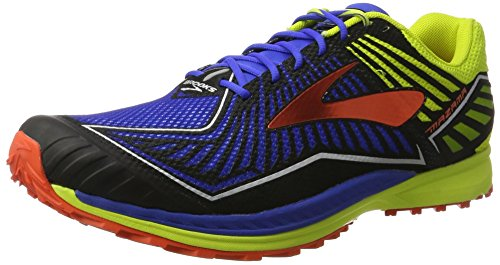 Lime Tomatoes - Brooks Men's Mazama Electric Blue/Lime Punch/Cherry Tomato 12 D US