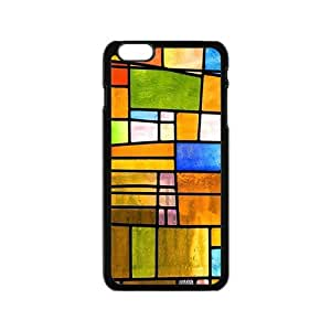 Creative Colorful Grid Cell Phone Case For Iphone 6
