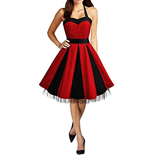 Black and Red Formal Dress: Amazon.com