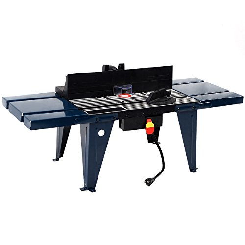 Goplus Electric Aluminum Router Table Wood Working