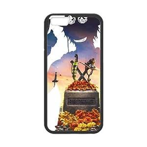 iPhone 6 Plus 5.5 Inch phone case Black ONE PIECE FFTR4271598