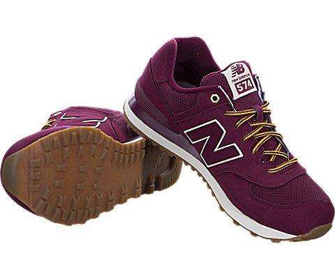 New Balance Men's 574 Outdoor Boot Sneakers, Sedona Red, 9 D US