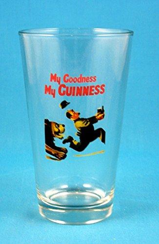- Guinness Gilroy Lion Pint Glass