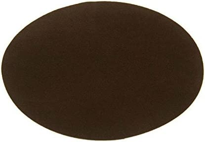 2X Suede Leather Iron-on Oval Elbow Knee Patches DIY Repair Sewing Applique DP