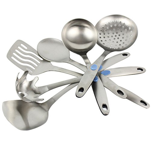 High quality stainless steel kitchenware suit cookware set for Kitchen tool set of 6pcs sj