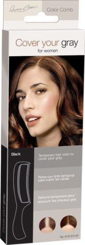 Hair-Coloring Comb, Color Black