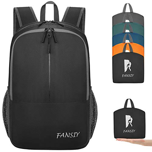 FANSIY Hiking Backpack Lightweight Travel Backpack Packable Backpack Daypack for Women Men
