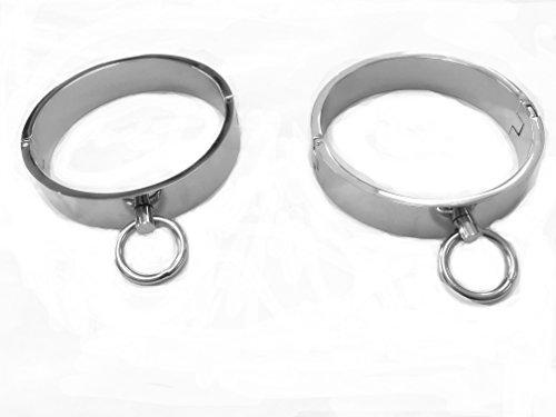 Steel Cuffs with O-Ring (Locking Ankle Cuff)