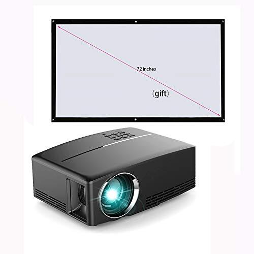Proyectores HD Cine en casa 1080p 3800 lúmenes Proyección de Video ...
