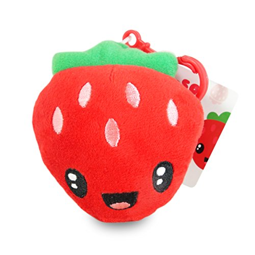 Scentco Fruit Troop Backpack Buddies - Strawberry Scented Plush (Scented Strawberry)