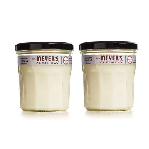 Mrs. Meyer's Clean Day Soy Candle - Lavender - 7.2 oz - 2 pk