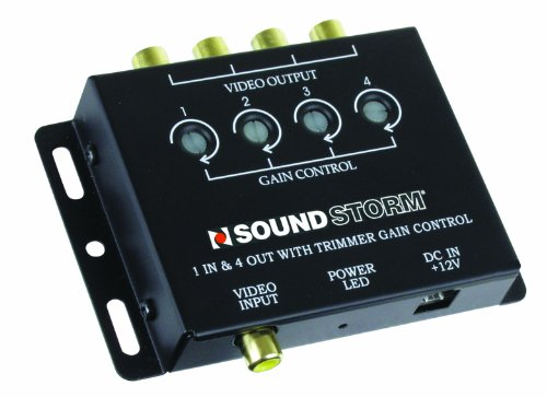SSL SVA4 Video Signal Amplifier, Single Source In, Four Outputs (Video Trade In)