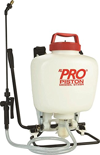 RL Flo-Master 614SR Heavy Duty Piston Backpack Sprayer, 4-Gallon