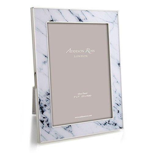Addison Ross White Marble Frame 5x7