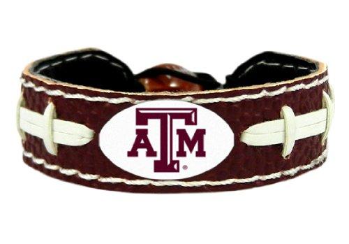 Texas Am Aggies Bracelets - NCAA Texas A&M Aggies Team Color Football Bracelet