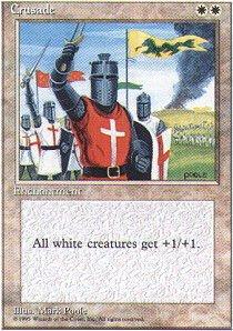 Magic: the Gathering - Crusade - Fourth Edition
