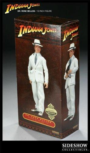 "Dr. Rene Belloq Exclusive 12"" Figure Indiana Jones Sideshow Toys"