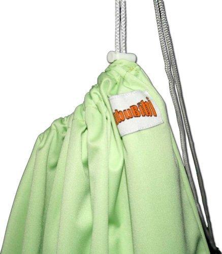 BubuBibi Waterproof Diaper Pail Liner - Baby Green by BubuBibi