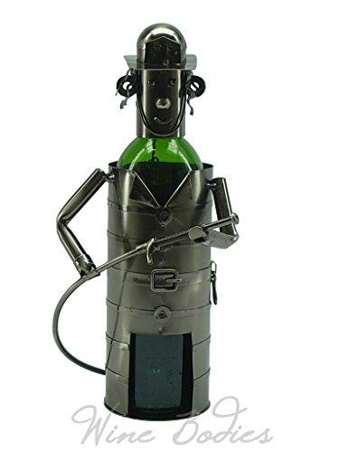 Bottle Fireman Wine (Fireman Metal Wine Bottle Holder.)