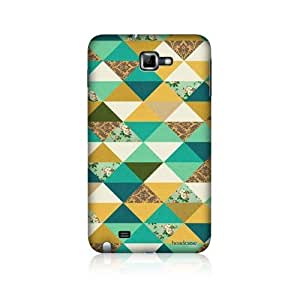Ocean Bunting Pattern Back Case For Samsung Galaxy Note N7000 I9220