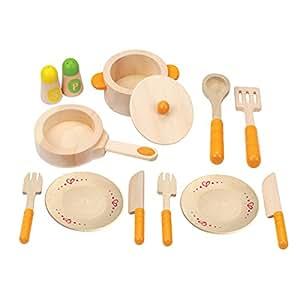 Hape - Set utensilios de cocina (0HPE3103)
