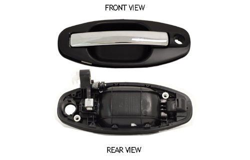 Hyundai Santa Fe Outside Front Driver Side Replacement Door Handle With Chrome Lever (Door Handle Hyundai Santa Fe 2004 compare prices)