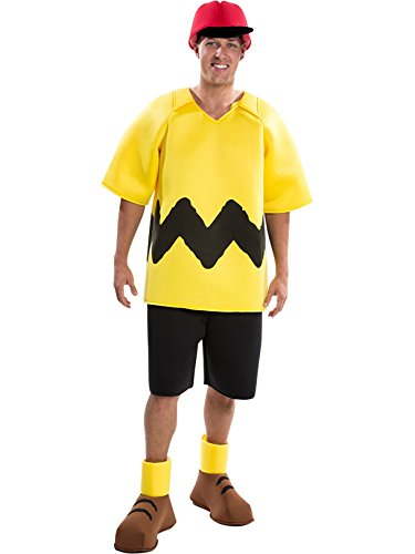 Peanuts: Deluxe Charlie Brown Adult Costume (S)