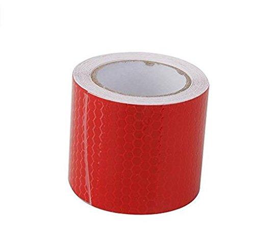 Cinta Reflectante de 5 cm * 3 m roja CDKJ