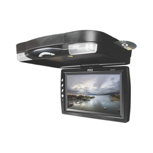 "Pyle Plrd133f 12"" Widescreen Lcd Roof Mount Flip Down Car Mo"