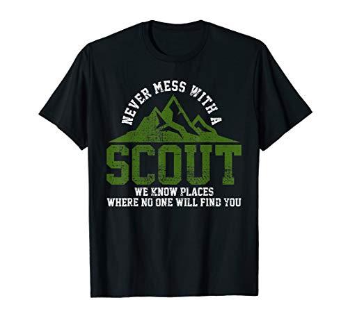n Hiker Gift Scouting Troop Leader Tee ()