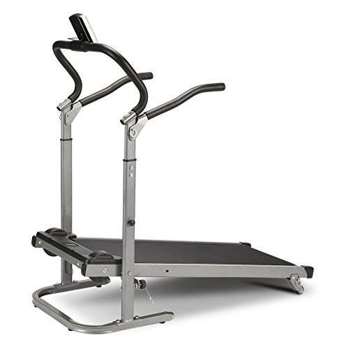 Homgrace Folding Manual Treadmill Running Machine with Incline Settings (Black) by Homgrace (Image #5)