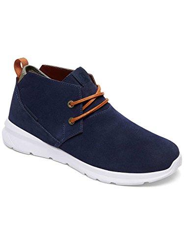 DC Shoes Ashlar, Espadrillas Basse Uomo Bleu - Navy/Camel