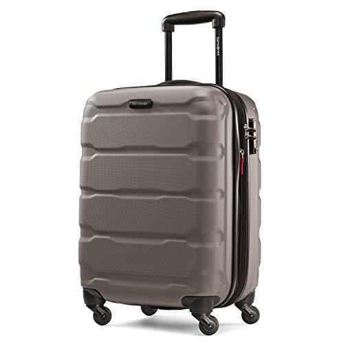 Samsonite Omni PC Hardside Luggage, Silver, Carry-On