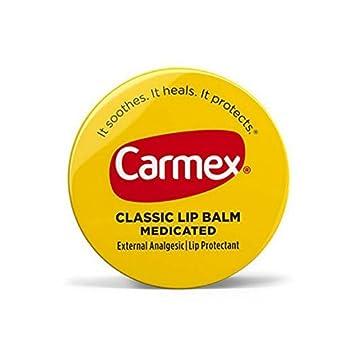 Carmex Classic Lip Balm Medicated 0.25 oz Packs of 12