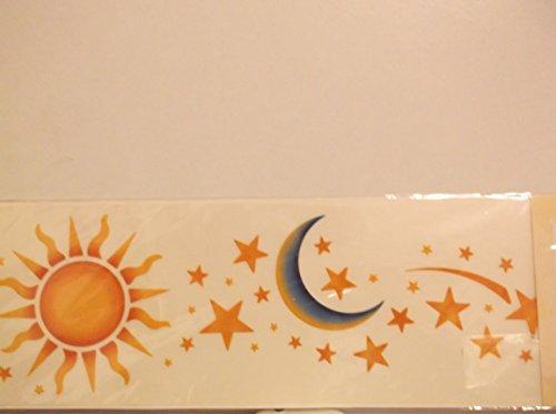 American Traditional Rub Ons (American Traditional Sun/Moon/Stars)