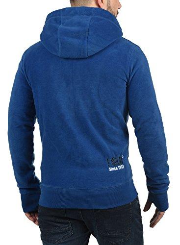 Sudadera Vellón Loki Blue Cremallera Suave Solid para Capucha De Polar con Tacto Hombre 1542 Chaqueta Al Faded con con Forro qp5nC