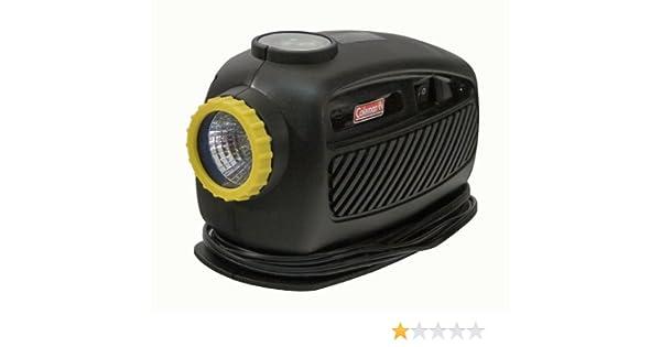 Amazon.com: Coleman 12-Volt Compressor W/Built-In Work Light And Gauge #PMC8620: Kitchen & Dining